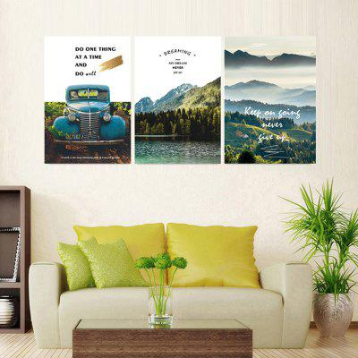 Jy026 Wall Art Canvas Painting Natural Scenery Printed Decorative Picture No Framed for Living Room Bedroom Aisle 3pcs