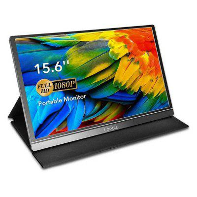 Lepow Z1 15,6 pollici Monitore di Computer 1920 x 1080 Full HD IPS Schermo USB-C Gioco Monitori con Tipo-C Mini HDMI Supporta PS4 XBOX Gamepad