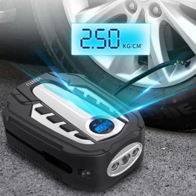 AM03 Core Fast Charging 12V Car Air Pump Metal Cylinder Intelligent Digital Tire Inflator