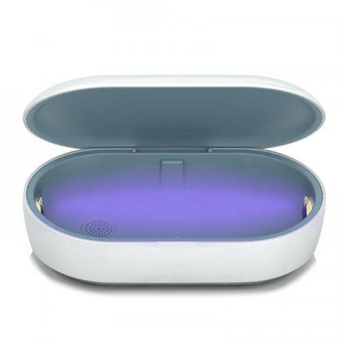 3-in-1 Fast Charging Wireless Charger UV Sterilization Disinfection Box Aromatherapy Diffuser