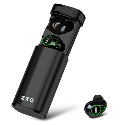 ZXQ K1 True Wireless Bluetooth Auricolare TWS Cartuccia in Metallo Singolo Cuffia Binaurale Cuffie Senza Fili