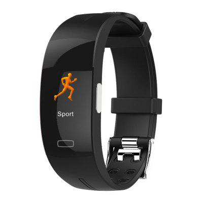 imosi P3A / P3P Color Display Smart Bracelet Wristband ECG + PPG Health Monitor Heart Rate Exercise Pedometer