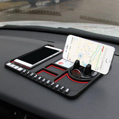 Car Phone Anti-slip Mat Decorations Stand Pad High Temperature Resistance