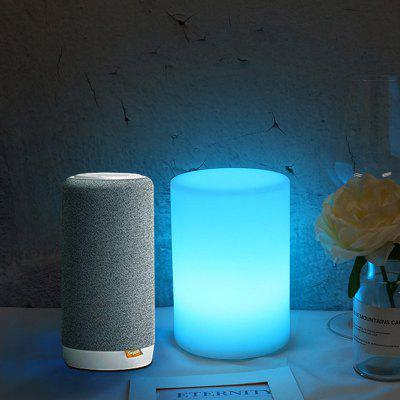 Brelong WiFi intelligens USB töltés lámpa Voice Intelligens LED lámpa Színes Night Light