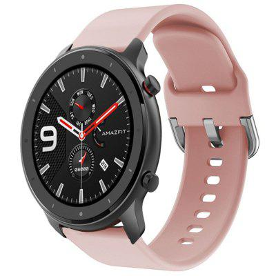 TAMISTER 22mm Solid Color Sports Silicone Strap Pin Buckle hodinky Pásmo pro Amazfit GTR 47 mm