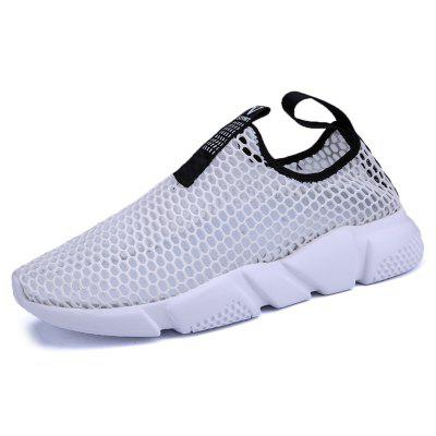 AILADUN Summer Mesh Breathable Lightweight Casual  Sports Shoes