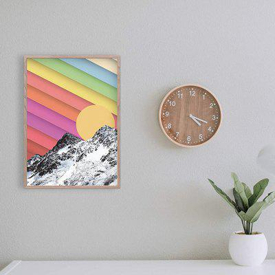 Icebergs Sunset Landscape Poster Home Decorative Painting Living Room Bedroom Print (without Frame)