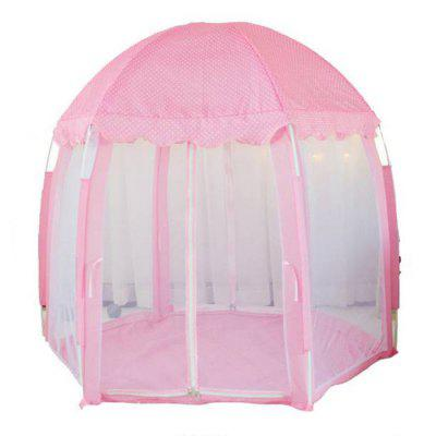 Portable Hexagonal Princess Castle Children Play Tent Game Toy House