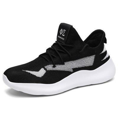 AILADUN Men Fashion Casual Sports Shoes Korean Personality Cartoon Light Running Footwear