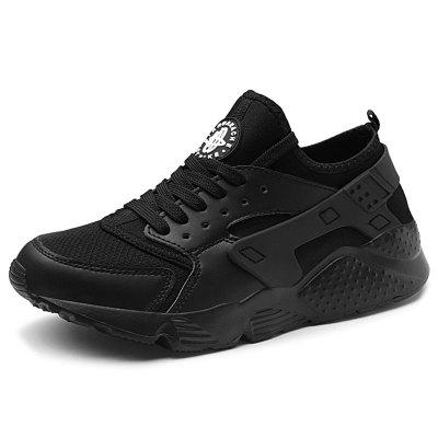AILADUN Men Sneakers Breathable Mesh Sports Shoes