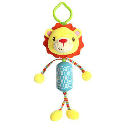 Baby Bed Hanging Plush Rattle Infant Toys Animal Cartoon Dolls Educational Hanging Baby Toys for Stroller Bed Car Seat
