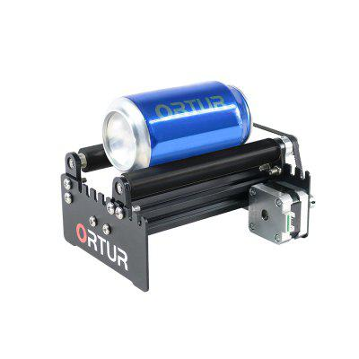ORTUR Leaser Engraver Y-axis Rotary Roller Engraving Module for Engraving Cylindrical Objects Cans