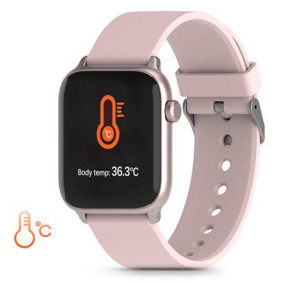 Фото - TICWRIS GTS Real-time Body Temperature Watch Heart Rate Monitor 7 Sports Modes Sports Smartwatch with Temp Sensor Bluetooth 4.0 digital thermostat temperature regulator
