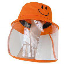 Kind Anti-splash Beschermende Cap Face Cover Hat