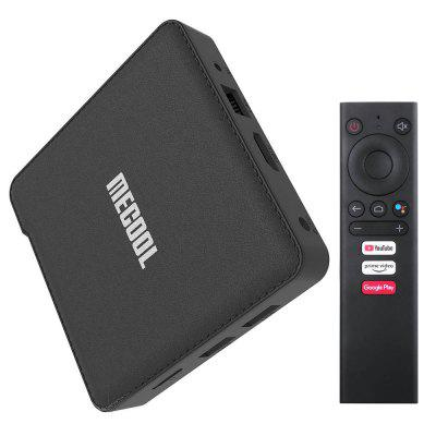 MECOOL KM1 DELUXE ATV Smart Voice Remote TV Box Support Google Assistant Image