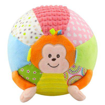 Baby Educational Toy Sound Ball Fun Monkey Rattle Doll