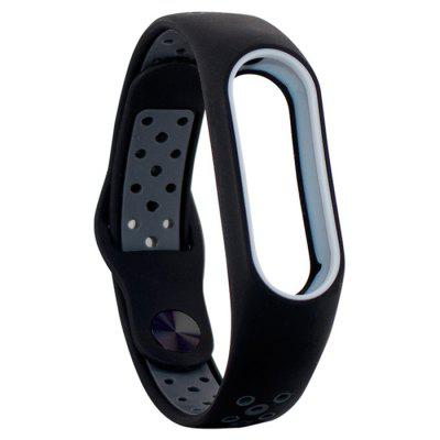 Unisex Silicone Sports Wristband Watch Strap for Xiaomi Mi Band 2
