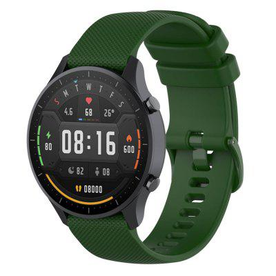 Universal 22mm Silicone Watch Strap for General-purpose AMAZFIT Stratos / GTR 47mm / Huawei Watch GT 46mm