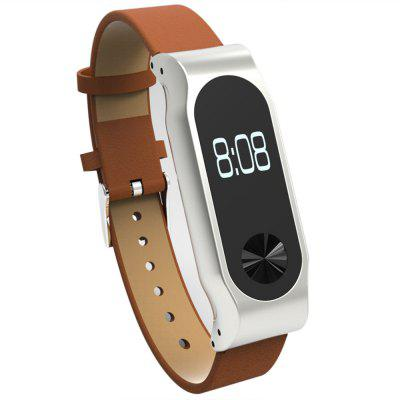 Unisex Microfiber Leather Wristband Watch Strap for Xiaomi Mi Band 2