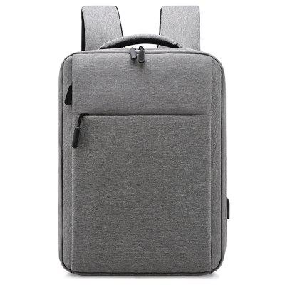 Computer Bag Single Pull Double Air Cushion Student Backpack Leisure Travel Pack