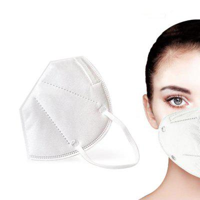 KN95 Protective Mask Antivirus Anti Droplets Dustproof N95 KF94 FFP2 Face Masks 4 Ply Reusable PM2.5 Protection Respirator with CE Certification