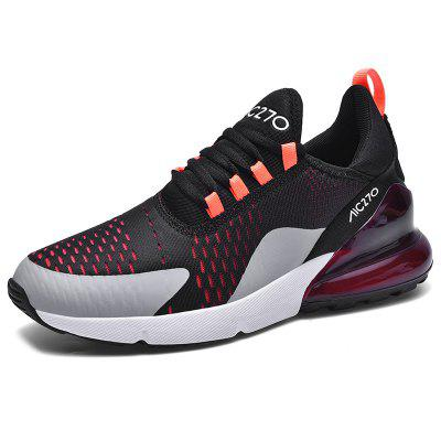 AILADUN Men Sports Shoes Breathable Mesh Running Shoes