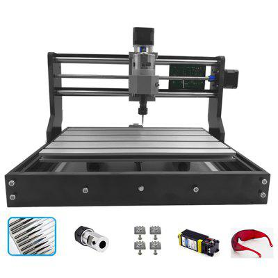 CNC 3018 PRO 10000mW Laser Engraver Wood Router Machine GRBL ER11 Hobby DIY Engraving for PCB PVC