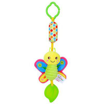 Puzzle Plush Baby Carriage Pendant Baby Bed Bell