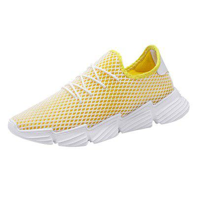 AILADUN Men Fashion Lightweight Breathable Mesh Casual Shoes