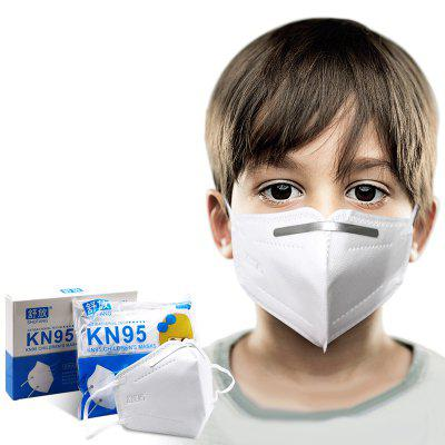 KN95 N95 FFP2 KF94 Kids Mask 4 Layer Dustproof Anti-fog Children Masks Anti PM2.5 Virus Bacteria Proof Respirator with CE FDA Certification 10pcs