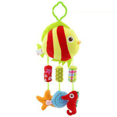 Baby Music Toy Animal Wind Chime Bed Pendant