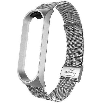 Stainless Steel Replaced Bracelet Strap Smart Watch Wristband for Xiaomi Band 3 4 NFC Version