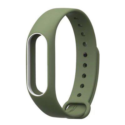 TAMISTER Dual Color Anti-lost Replacement Wristband for Xiaomi Mi Band 2