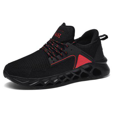 AILADUN Men's Summer Sports Shoes Breathable Mesh Sneakers Cushioning Running Shoes Plus Size