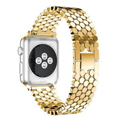 Unisex Replacement Wristband Fashion Fish Scale Pattern Strap for Apple Watch