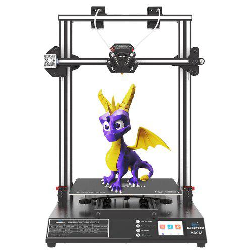 Geeetech A30M Mix-Color 3D Printer with 320x320x420mm Printing Area / Two-in-One-out Nozzle / Dual Z Axis Support Auto Leveling