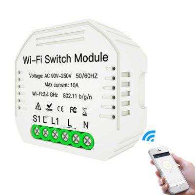 MS-104 WiFi Smart Switch Module 90 - 250V podpory Alexa Google Assistant
