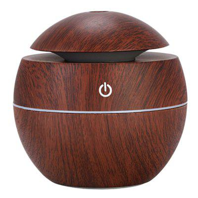 130ml Dark Color Wood Grain Mushrooms USB Aromatherapy Humidifier Aroma Essential Oil Diffuser Air Purifier