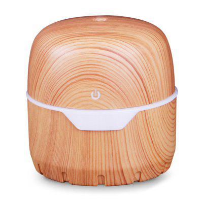 Fhkep012-2 300ml Light USB Wood Grain Air Humidifier Mute Spray Diffuser for Home Office School Use