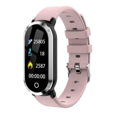 T1 Color Screen Smart Bracelet Supports Bluetooth Heart Rate Monitor Sleeping Monitoring Movement Pedometer Call Reminder