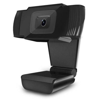 HXSJ A870 USB Webcam HD Video Recording Camera with Microphone
