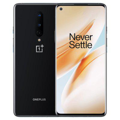 Oneplus 8 5G Smartphone 6 .55 inch Snapdragon 865 OxygenOS 48MP+2MP+ 16MP Camera 4300mAh Battery  International Version Image