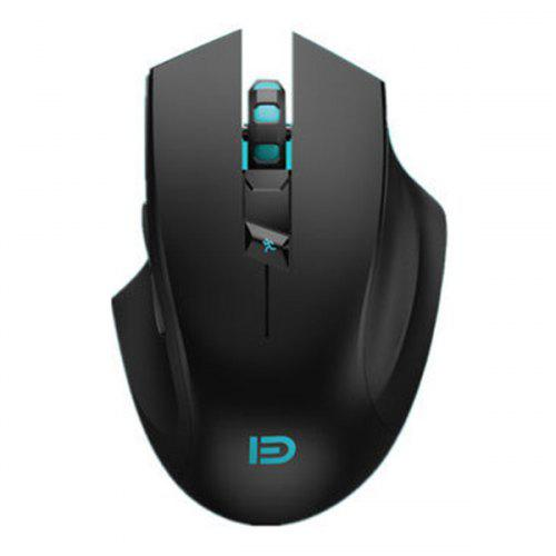 FUDE i720 Wireless Game Mouse Boys Player Size Universal Mute Mouse for Laptop Desktop PC