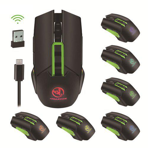 Wireless Gaming Mouse 5 Speed Adjustable DPI Mouse Laptop Computer Accessories