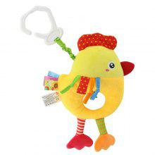 Baby Infant Plush Toy Music Rattle Bed Bell