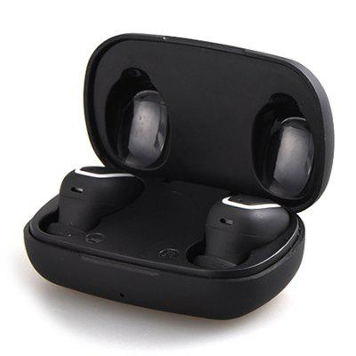 S9 TWS Wireless Bluetooth Earbuds Exquisite HiFi Sound Earphone Stereo Mini Headphone with Qi Wireless Charging Case