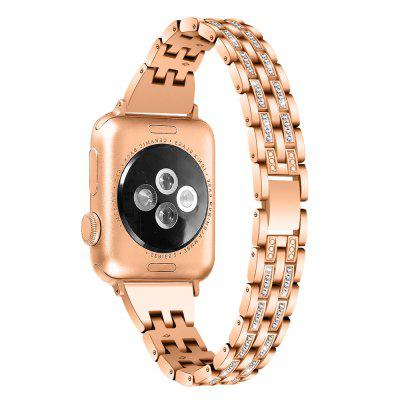Unisex Fashion Metal Band Stainless Steel Strap for Apple Watch