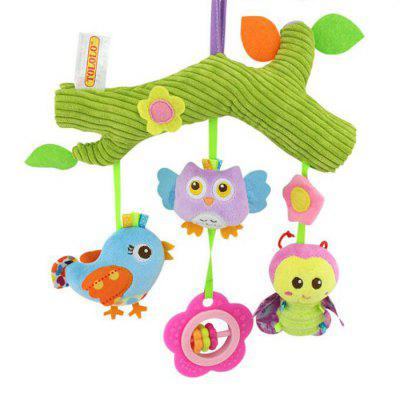 Baby Stroller Carriage Bed Hanging Bell Appease Animal Plush Toys