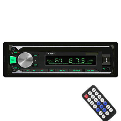 508 Car MP3 player Bluetooth Hands-free FM Radio Card de U disc