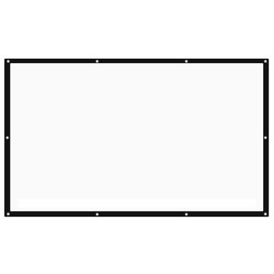 Bilikay 120 inch 16:9 Screen Portable Folding Canvas - White
